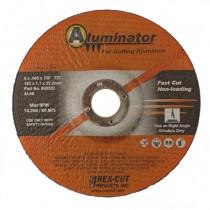 Rex-Cut 4-1/2x.045x7/8 Aluminator Cut-Off Wheel 25pk - REX 800300