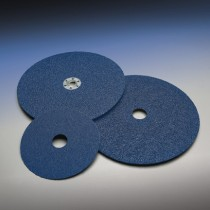 Norton 5x7/8 60 Grit BlueFire F826P Resin Fiber Disc 25pk - N66261138601