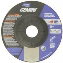 Norton 4-1/2x1/4x7/8 Gemini Stainless Grinding Wheel 25pk - N66252842033