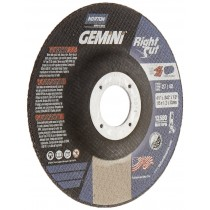 Norton 4-1/2x.045x7/8 Gemini RightCut Cut-Off Wheel 50pk - N66253370065