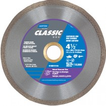 "Amplex 2"" Continuous Rim Diamond Cut-Off Saw Blade DS2062-250 - N66260301990"