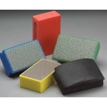 Amplex 400 Grit Quadroflex Curved Diamond Coated Hand Pad QHP400 - N69014123530
