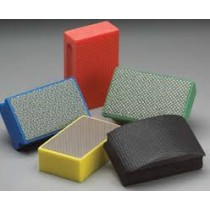 Amplex 800 Grit Quadroflex Curved Diamond Coated Hand Pad QHP800 - N69014123531