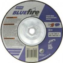 Norton 9x1/4x5/8 Type 28 BlueFire Grinding Wheel 10pk - N66252843237