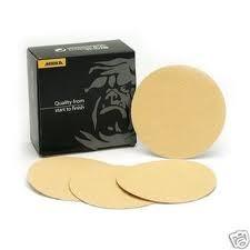 """Mirka Bulldog Gold 5"""" Grip Disc 50pcs - 23-612-XXX"""