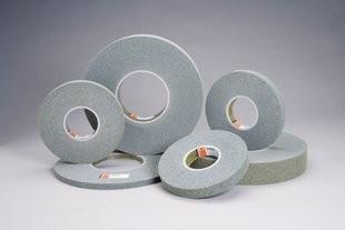"Standard Abrasives 6""x1""x1"" 8AM Medium Convolute Wheels - ST 853142"