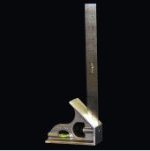 "LaGesse Wide Based Combination Square with 12"" Stainless Steel Contractor's Blade - LaSquare 12S"