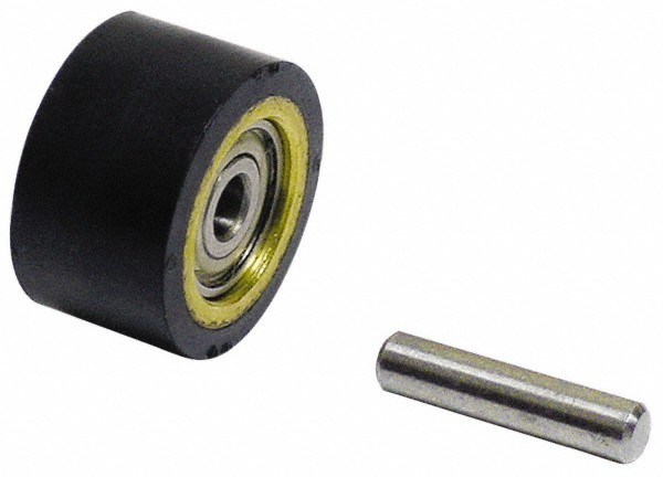 """Dynabrade 7/16""""x3/8""""x1/4"""" Contact Wheel Assembly - DY 11070"""