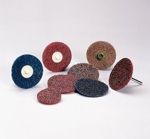 "Standard Abrasives 3"" Coarse TR/Roloc Quick Change Disc 25pk - ST 840487"