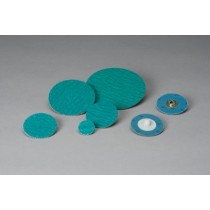 1-1//2 x TS 400 Units 60 Grit A//O 2-Ply Disc Quick Change TS Aluminum Oxide Standard Abrasives 522305