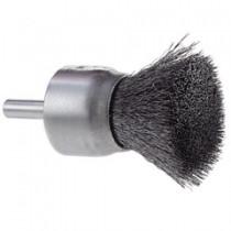 "Osborn 1"" Crimped Wire End Brush 12pk - 30085"