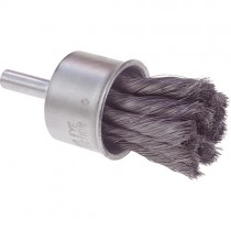 "Osborn 3/4"" Stainless Steel Knot Wire End Brush 12pk - 30435"