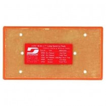 "Dynabrade 3-2/3""x7"" Rectangular Hook Face Disc Pad - DY 57852"
