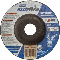 Norton 4-1/2x1/4x7/8 BlueFire Grinding Wheel 25pk - N66252843214