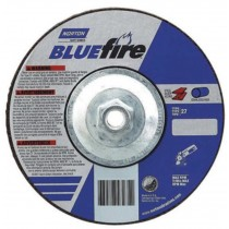 Norton 7x1/4x5/8 BlueFire Grinding Wheel 10pk - N66252843235