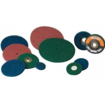 "Standard Abrasives 3"" Medium TR/Roloc Quick Change High Strength Buff & Blend Disc 25pk - ST 840458"