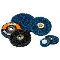 "Standard Abrasives 4-1/2""x7/8"" Type 27 Cleaning Disc 5pk - ST 811027"