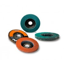 "Standard Abrasives 4-1/2"" 60 Grit Type 29 Flap Disc 10pk - ST 645909"