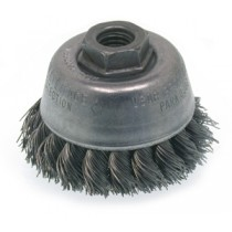 "Osborn 2-3/4"" Knot Wire Cup Brush 6pk - 33359"