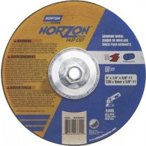 Norton 9x1/8x7/8 Norzon Plus Grinding Wheel 20pk - N66253048896