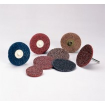 "Standard Abrasives 3"" Medium TR/Roloc Quick Change Disc 25pk - ST 840488"