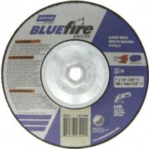 Norton 9x1/4x5/8 Type 28 BlueFire Grinding Wheel 10pk - N66252843237