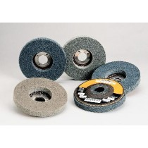 "Standard Abrasives 4-1/2""x1/2""x7/8"" 532 Unitized Disc 5pk - ST 811532"