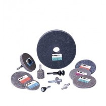 "Standard Abrasives 3""x1/4"" TR/Roloc 532 Unitized Wheel 10pk - ST 853298"