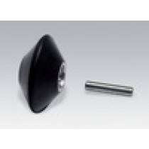 """Dynabrade 1""""x3/8""""x3/8"""" Tapered Contact Wheel Assembly - DY 11086"""