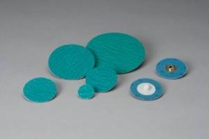 """Standard Abrasives 1-1/2"""" 60 Grit 2 Ply TS/SocAtt Quick Change Disc 100pk - ST 522305"""